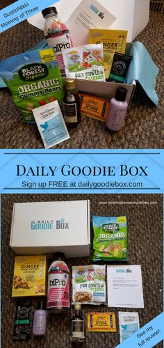 Daily Goodie Box June 2017 Review & Unboxing  #freesampleboxes #spon Check out my full review. You can also sign up free for a chance to receive free boxes for yourself! « DustinNikki Mommy of Three