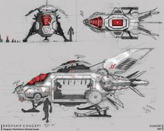Dropship Concept by Jaruzel on DeviantArt