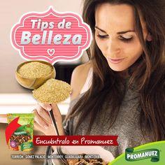 Otro ingrediente para cuidado de la piel reseca es el gérmen de trigo. Agregue dos cucharadas de germen de trigo a su cereal todas las mañanas. Su alto contenido de #vitamina E es muy beneficioso para el #cutis seco.
