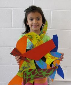 Frank Stella inspired relief sculpture. The ArtRoom