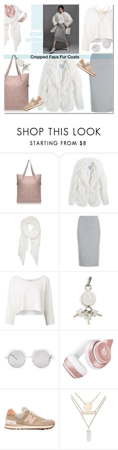 """Cropped Faux Fur Coats"" by drn57 ❤ liked on Polyvore featuring Pepe Jeans London, Calvin Klein, M&S Collection, Witchery, Alexander Wang, Forever 21, Beats by Dr. Dre, New Balance, Jules Smith and women's clothing"