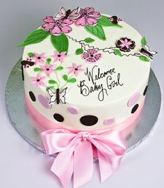 baby girl shower cakes | Baby Shower