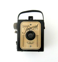 Vintage Camera - A Hero Imperial