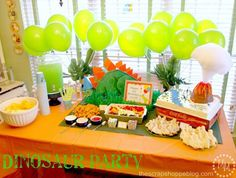 8 Ideas for a Furiously Fantastic Dinosaur Party: Create a Roar-some Backdrop
