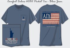 Alpha Gam America Function t-shirt! #AGD #ThetaOmega