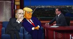 Image result for trump in bed with putin art