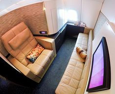 Etihad Airways A380 First Class Apartment