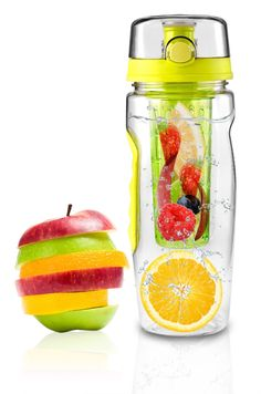 32 ounce Fruit Infuser Water Bottles Special Clearance Sale www ...