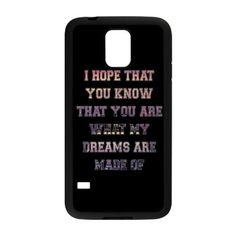 Customizable Sleeping With Sirens Lyrics Beautiful Words Phone Case Fashionable Samsung Galaxy S5 Back Case:Amazon:Cell Phones & Accessories