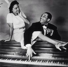 Clora Bryant with Duke Ellington