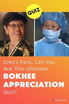 This trivia quiz will test your knowledge on how well you know everyone's favorite Scrub Nurse, Bokhee. #greys #shondaland #greysLove #greysrandomQuiz #greysFan #meredithgrey #shonda #GreysAnatomy #greysquiz #bokhee #greysnurse #greysnostalgia #greysAnatomyTrivia