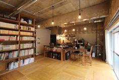 「本屋」で「食堂」みたいな空間を楽しむ、品川区・大森のリノベ住宅