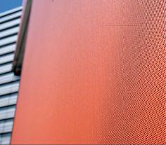 Serge Ferrari   Textile Facade   Ppenwork Stamisol FT membrane Light Effect, Facades, Ferrari, Digital Prints, Buildings, Textiles, Creative, Architecture, Fingerprints
