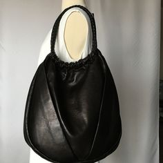 Sunday sale Elie Tahari black genuine leatherbag This bag was in closet for almost one and have years.NEW no tags . Leather is so soft so beautiful ,no any imperfections, Elie Tahari Bags