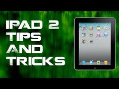 iPad Tips and Tricks For New iPad Users!