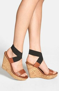You've been pinning it! The gorgeous 'Roperr' Wedge Sandal by Steve Madden