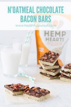 N'Oatmeal Chocolate Bacon Bars (sub sweeteners)