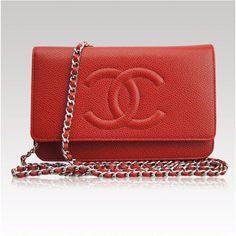 1f65ca475179 Red Caviar CHANEL WOC  Chanelhandbags Chanel Woc