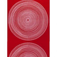 Fokus fabric, red