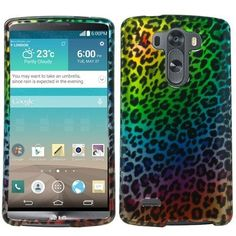 For LG G3 2014 Cute Raibow Leopard Tough Plastic Snap-on Hard Phone Case Cover in Cases, Covers & Skins | eBay