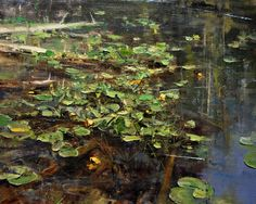"Mike Wise, ""Forest Water Lilies"""