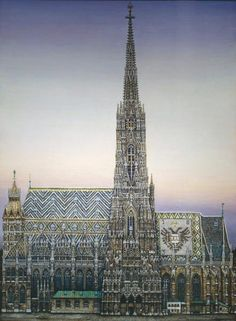 St. Stephen's Cathedral, Vienna by Karl Goldammer