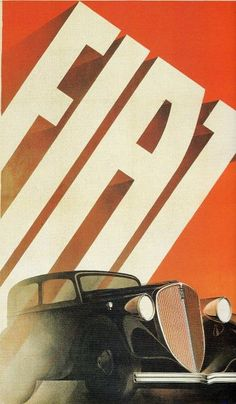 Italian Vintage Graphics research, focus on typographic composition Vintage Italian Posters, Vintage Advertising Posters, Vintage Advertisements, Vintage Ads, Retro Poster, Retro Ads, Poster Vintage, Art Deco Posters, Car Posters
