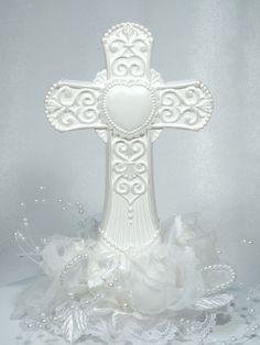 groom bride wedding cake top cross faith Holy Bible Matrimony Jewish Yarmulke Church Christian Religious