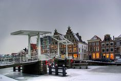 Haarlem my hometown in winter. The Netherlands Beautiful Places To Visit, Places To See, Haarlem Netherlands, South Holland, Visit Amsterdam, Great Pictures, Dutch, The Good Place, Instagram