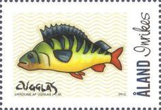 My Aland – Caroline af Ugglas Small Art, Stamp Collecting, Postage Stamps, Finland, Faroe Islands, Denmark, Europe, Backyard, Fish