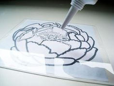 Make Your Own Stamps From Silicone & Plexi