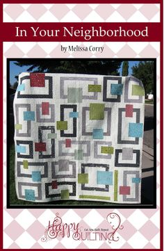 In Your Neighborhood - PDF Quilt Pattern with 3 size options on Etsy, $8.50