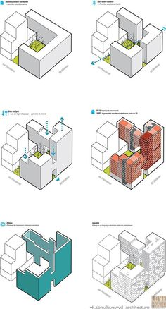 Peyssonnel housing - Marseille / ECDM associated with the R .- Peyssonnel housing – Marseille / ECDM associated with Rémi MARCIANO Architects and Mateo Arquitectura - Plan Concept Architecture, Sketchbook Architecture, Model Architecture, Architecture Graphics, Architecture Diagrams, Architecture Facts, Architecture Colleges, Miami Architecture, Masterplan Architecture