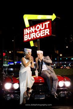 In n Out Vegas wedding