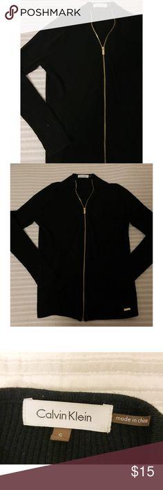 Calvin Klein Zip Up Sweater Mint condition Calvin Klein Sweaters Cardigans
