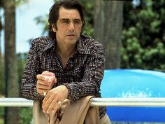"Al Pacino wears Cazal 968 in ""Donnie Brasco"" Carlito's Way, Donnie Brasco, Call Me Al, Cazal Sunglasses, Name Signature, New Jack City, Jackie Brown, Al Pacino, Dna"
