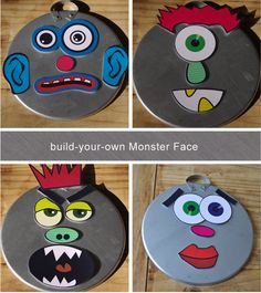 monster faces