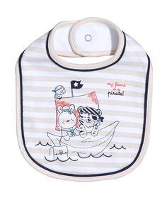 Prenatal Bavaglino interlock animaletti pirata