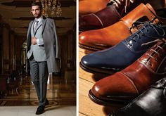 Overcoat & Made to Measure Shoes Tudor Tailor, Winter Collection, Oxford Shoes, Fall Winter, Dress Shoes, Costumes, Classic, Men, Fashion