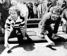 Steven Spielberg & George Lucas in 1984 - by Museum of Cinema, via Flickr