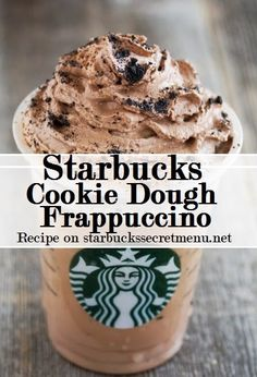 Starbucks Secret Menu: Cookie Dough Frappuccino | Starbucks Secret Menu