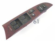 2007 LEXUS IS250 IS350 FRONT LH DOOR WINDOW SWITCH WOODGRAIN 84040-53080 262 #61
