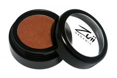 Zuii Organic Flora Eyeshadow Brownie.  Zuii's unique Talc Free Certified Organic Floral Blend of rose, chamomile and jasmine powders enriched with natural vitamins and minerals delivers both a subtle and sophisticated colour palette to soothe and nourish your eyelids. No longer are lovers of shimmery eye shadows only for the young, now because of Zuii unique formulation there is no limitation.