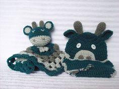 Giraffe Crochet Baby Blanket Baby Boy Diaper by NikkisCraftShoppe
