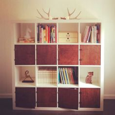 IKEA Hack :: Raw Wood Expedit — Grassrootsmodern.comexpedit doors