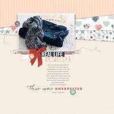 Unexpected Joy. [Saturday Scraplift Challenge with Designer Digitals 042217]. All products are available at Designer Digitals. #DesignerDigitals #digitalscrapbooking #scrapbookideas #scrapbookinspiration #scraplift