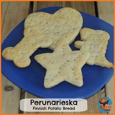 Making Perunarieska: A Finnish Potato Bread.  Recipe Ideas for Learning about Finland with Kids  from Glittering Muffins {Around the World in 12 Dishes}