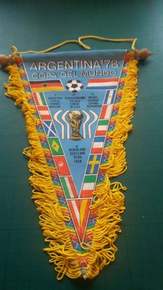 1978 World Cup / Coupe du Monde - Tournament Pennant - Scotland     eBay