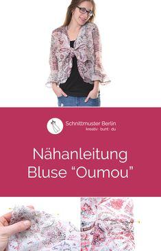 """Nähanleitung für die Bluse """"Oumou"""""""