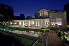 California Contemporary Yard by Rozalynn Woods Interior Design